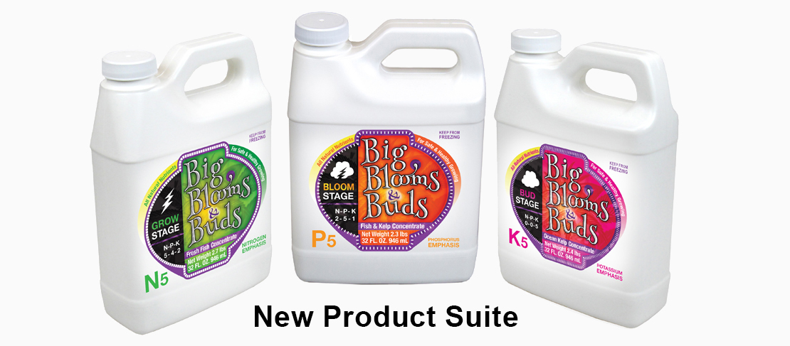 Big Blooms & Buds New Product Suite